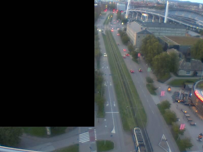Opalen mot Skånegatan